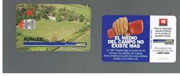 URUGUAY -   1998 RURALCEL, LANDSCAPE                           - USED  -  RIF. 10458 - Uruguay