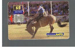 URUGUAY -   1999 CREOLE WEEK: CABALLO NEGRO                - USED  -  RIF. 10460 - Uruguay