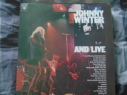 Johnny Winter-  And/Live (2LP) - Rock