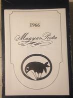 Hongrie - Magyar Posta - 1966 - Année Complète Avec Blocs Feuillet - Hongarije