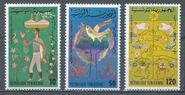 Tunisie YT N°871/873 Nature Et Environnement Neuf ** - Tunisia