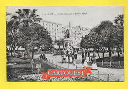 CPA 06 NICE  Jardin Albert 1er Promenade Des Enfants Par Les NURSES - Nice