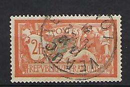 """FR YT 145 """" Merson 2F. Orange """" 1917 Oblitéré - 1900-27 Merson"""