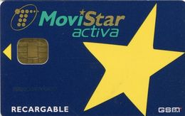 Spain - GSM, SIM Card, MoviStar Activa, Used - Espagne