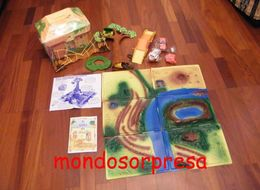 MONDOSORPRESA, VINTAGE FIGURA BURGHY ANNI 90, PACCHETTO PATATINE - Kinder & Diddl