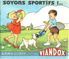 Album à Colorier Publicitaire Illustré J. Lagarde Pour Viandox Liebig + 1 Buvard - Publicités