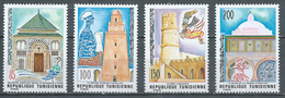 Tunisie YT N°839/842 Patrimoine Culturel Neuf ** - Tunisia