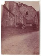 35 Saint Sulpice La Foret - Ruines De L'Abbaye - Lot De 3 Photos Albuminées Avant 1900 - Other Municipalities