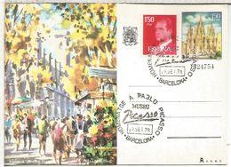 BARCELONA 1978 HOMENAJE A PICASSO MUSEO ARTE PINTURA - Picasso
