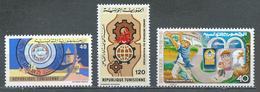 Tunisie YT N°857-858-859 Union Postale Arabe - Rhumatisme - Développement Rural Neuf ** - Tunisia