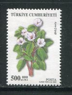 TURQUIE- Timbre Oblitéré - Végétaux
