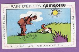 Buvard Gringoire Pain D Epices Echec Au Chasseur N° 1 - Aventure De Gringo - Gingerbread