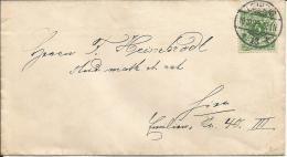 Deutsches Reich Orts Beleg EF 1899 Leipzig - Briefe U. Dokumente