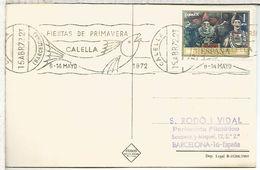 CALELLA BARCELONA RODILLO 1972 FIESTAS DE PRIMAVERA - 1931-Hoy: 2ª República - ... Juan Carlos I