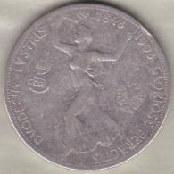 Autriche. 5 Corona 1908 .60ème Anniversaire Du Règne De Franz Joseph I . Argent . KM# 2809 - Autriche