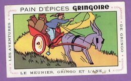 Buvard Gringoire Pain D Epices - Le Meunier Gringo Et L Ane N° 1 - Aventure De Gringo - Gingerbread