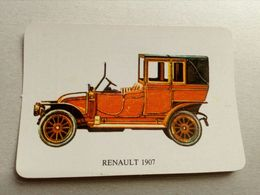 Calendrier De Poche Renault 1907 - Calendriers