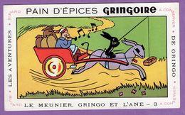 Buvard Gringoire Pain D Epices - Le Meunier Gringo Et L Ane N° 3 - Aventure De Gringo - Gingerbread