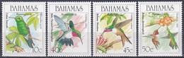 Bahamas 1989 Tiere Fauna Animals Vögel Birds Oiseaux Pajaro Uccelli Kolibris Hummingbirds, Mi. 695-8 ** - Bahamas (1973-...)