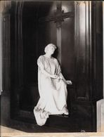 GENOVA -Photo Albumine Ca.1880 - A.NOACK GENOVA N° 3194 COMPOSANTO MONUMENTO ERBA (SACCOMANNO) 1883 Statue De Cimetière - Oud (voor 1900)