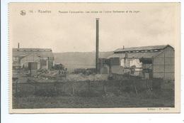 Roselies Pendant L'occupation Mes Ruines De L' Usine Verhaeren - Farciennes