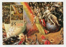 MC 320524 - GERMAN DEMOCRATIC REPUBLIC - Thomas Münzer Ehrung Der DDR 1989 - [6] République Démocratique