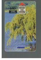 URUGUAY -   1999 FLORA: WEEPING WILLOW TREE                - USED  -  RIF. 10460 - Uruguay