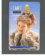 URUGUAY -   1999 GIRL              - USED  -  RIF. 10461 - Uruguay