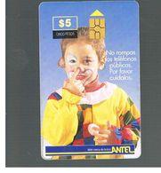 URUGUAY -   1999 LITTLE CLOWN        - USED  -  RIF. 10461 - Uruguay