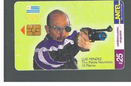 URUGUAY -   1999 OLYMPIC SPORT: SHOOTING        - USED  -  RIF. 10461 - Uruguay