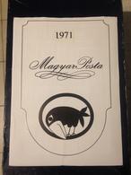 Hongrie - Magyar Posta - 1971 - Année Complète Avec Blocs Feuillet - Hongrie