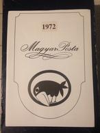 Hongrie - Magyar Posta - 1972 - Année Complète Avec Blocs Feuillet - Hongarije