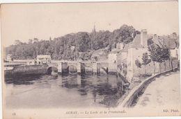 CPA  - 18. AURAY - Le LOCH Et La Promenade - Auray