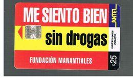 URUGUAY -   2001 ANTI  DRUGS       - USED  -  RIF. 10462 - Uruguay