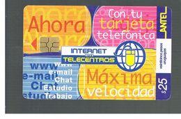 URUGUAY -   2001 INTERNET       - USED  -  RIF. 10462 - Uruguay