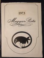 Hongrie - Magyar Posta - 1973 - Année Complète Avec Blocs Feuillet - Hongarije
