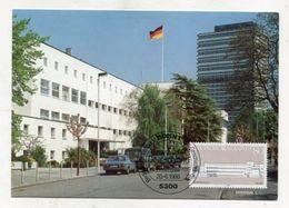 MC 320534 GERMANY - Bedeutende Gebäude Der Geschichte Der Bundesrepublik Deutschland - [7] République Fédérale