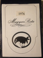 Hongrie - Magyar Posta - 1976 - Année Complète Avec Blocs Feuillet - Hongarije