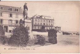CPA  - 25. QUIBERON -- La Place Hoche - Quiberon
