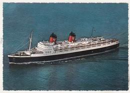 Germany Old Uncirculated Postcard - Ocean Liner - SS Hanseatic - Bateaux