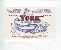 Ticket Musée Fécamp Les Pêcheries : YORK Morue Filet Salée Séchée Conserves Maritimes - Tickets - Vouchers