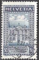 UPU 1924: Zu 168 B Mi 193 Yv 213 (24 Vertikalzähne) Mit O BESENBÜREN 6.X.24  (Zumstein CHF 20.00) - Usati