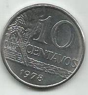 Brazil  10 Centavos 1978. High Grade - Brasil