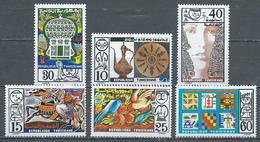 Tunisie YT N°794/799 L'artisan Et Son Produit Neuf ** - Tunisia