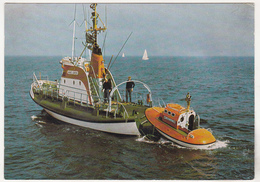 Germany Old Uncirculated Postcard - Lifeboat - Hans Loken - Special Cancelation - Autres