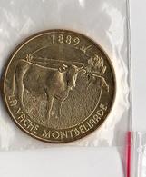* Médaille  Touristique  Monnaie  De  Paris  2015, LA  VACHE  MONTBELIARDE  1889 - Monnaie De Paris