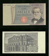 Banconota L. 1000 Verdi   6 - 9 - 1980 FDC - [ 2] 1946-… : Républic