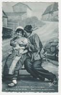 Humour Coquin Sexy L'Auvergne Humoristique Aux Innocents Les Mains Pleines Couple En Costumes Postée à Issoire En 1961 - Humour
