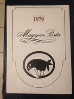 Hongrie - Magyar Posta - 1979 - Année Complète Avec Blocs Feuillet - Hongarije