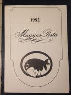 Hongrie - Magyar Posta - 1982 - Année Complète Avec Blocs Feuillet - Hongarije